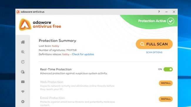 Adaware Free Antivirus 2017
