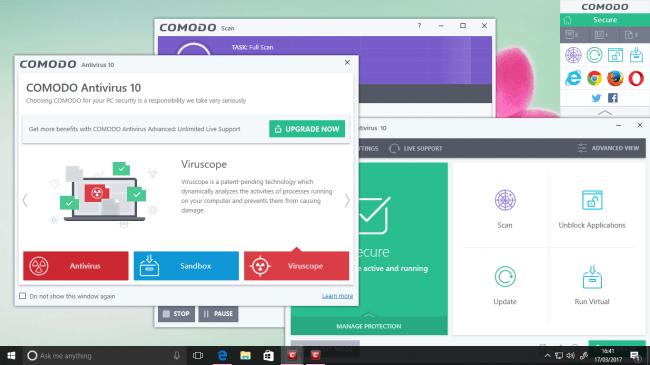 Comodo Free Antivirus 2018