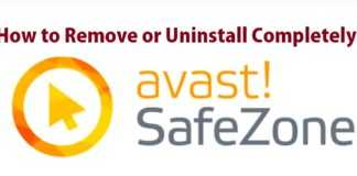 Remove Avast SafeZone Browser