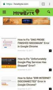 ERR_SSL_PROTOCOL_ERROR Solved