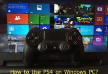 Use PS4 on Windows PC