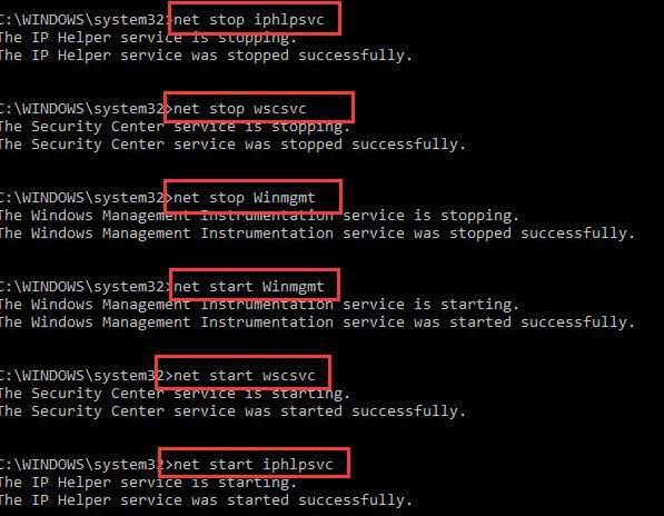 Stop WMI Provider Host High CPU Usage Windows 10
