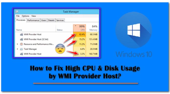 WMI Provider Host High CPU Usage Fix