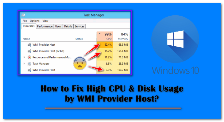 WMI Provider Host High CPU Usage Fix