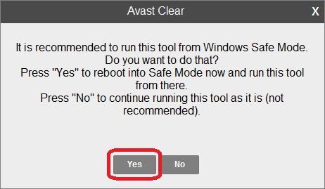 Uninstall Avast Antivirus