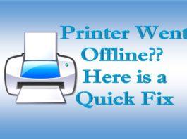 How to Fix Printer Offline Problem in Windows 10?