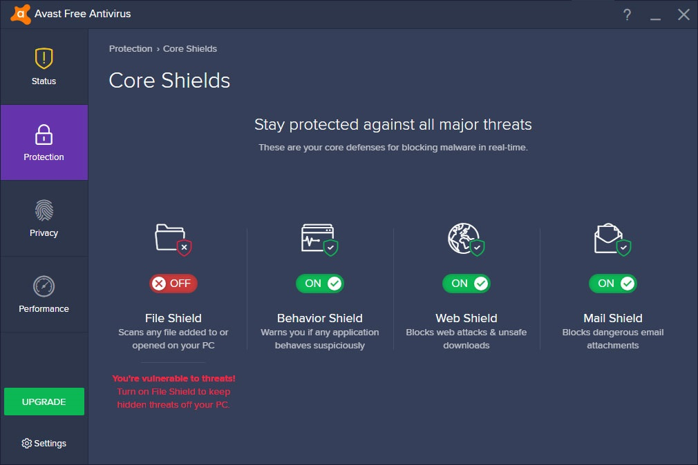 How to Temporarily Disable or Turn Off Avast Shields?