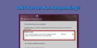 DNS Server Not Responding Error Fixes