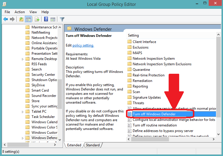 How to Temporarily Disable or Turn Off Windows Defender in Windows 10?