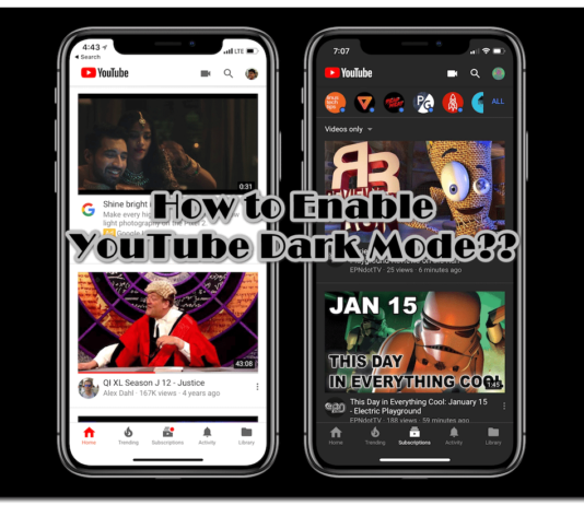 How to Turn On YouTube Dark Mode?