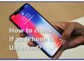 How to check if an iPhone is unlocked?
