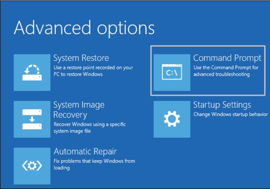 Fix Corrupt System files to Fix Error in Windows