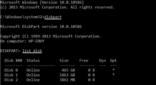 Fix Error Code 0xc0000225 in Windows