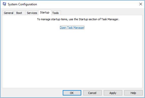 Windows 10 Task Manager
