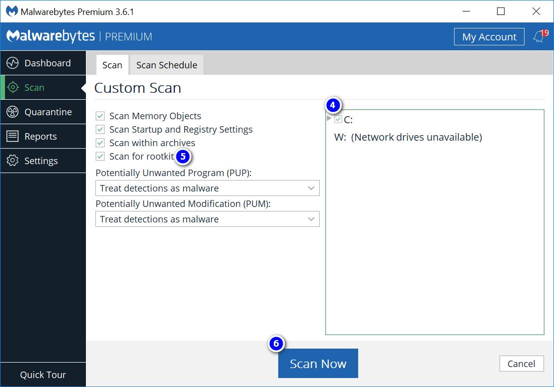 Malwarebytes Software Interface FileRepMalware