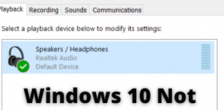Windows 10 Not Detecting Headphones When Plugged In