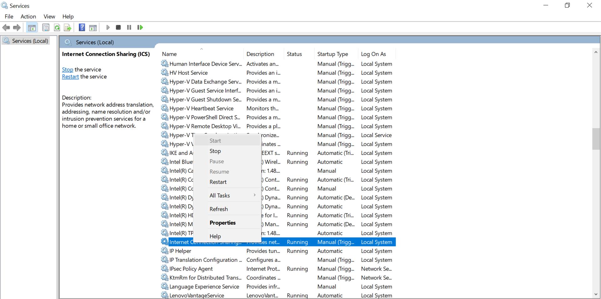 Internet Explorer ETW Collector Service