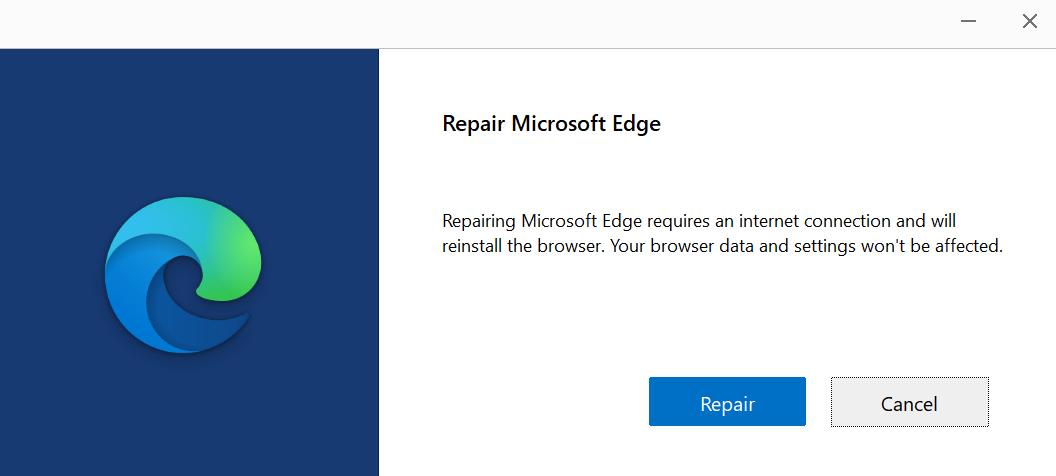 Repair Button