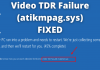 Video TDR Failure (atikmpag.sys) FIXED