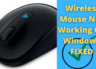 Wireless Mouse Not Working On Windows